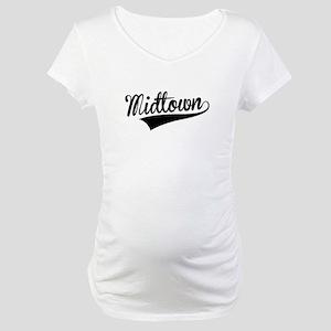 Midtown, Retro, Maternity T-Shirt