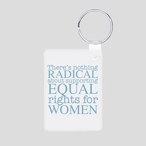 Radical Women Aluminum Photo Keychain