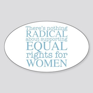 Radical Women Sticker (Oval)