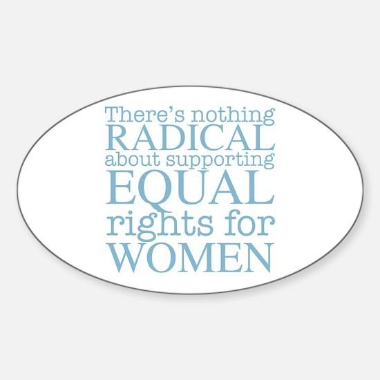 Radical Women Sticker (Oval)