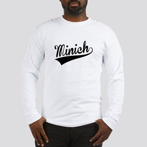 Minich, Retro, Long Sleeve T-Shirt
