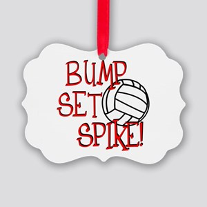 Bump, Set, Spike Ornament