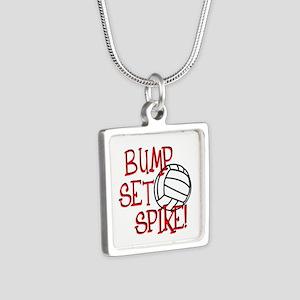 Bump, Set, Spike Necklaces