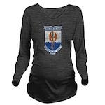 USS COOK Long Sleeve Maternity T-Shirt