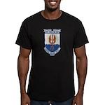 USS COOK Men's Fitted T-Shirt (dark)