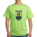 USS COOK Green T-Shirt