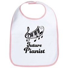Future Pianist Bib
