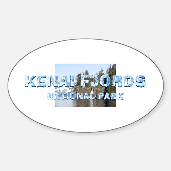 ABH Kenai Fjords Sticker (Oval)