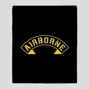 US Army Airborne Throw Blanket