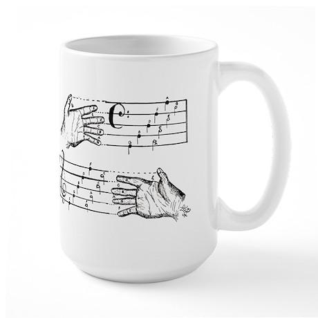 BASS & TREBLE Large Mug