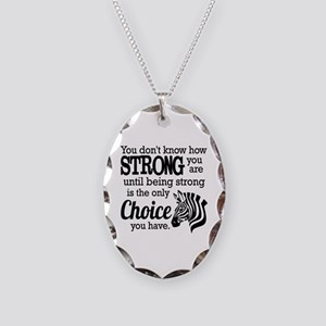 Ehlers Danlos  Necklace Oval Charm