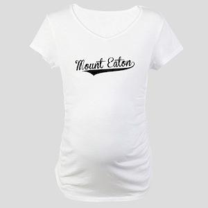 Mount Eaton, Retro, Maternity T-Shirt