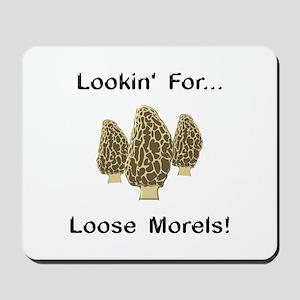 Loose Morels Mousepad