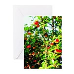 Apple tree Greeting Cards