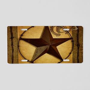 barn wood texas star western fashion Aluminum Lice