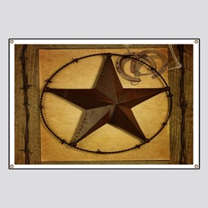 barn wood texas star western fashion Banner
