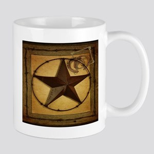 barn wood texas star western fashion Mugs