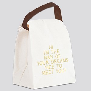 the_man_gold Canvas Lunch Bag