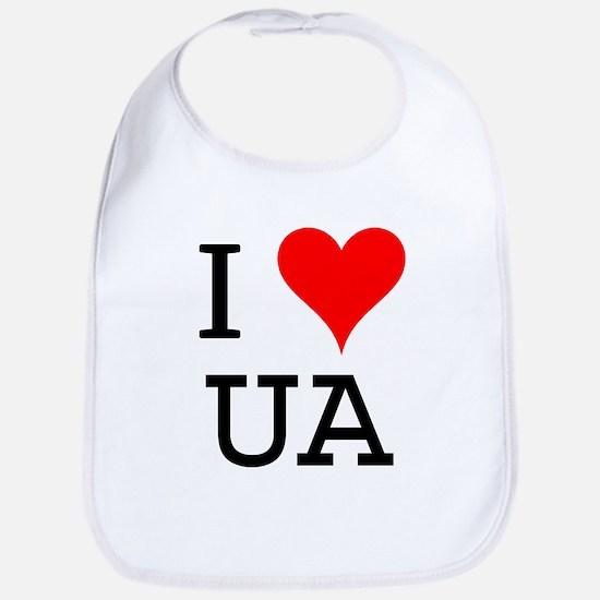 I Love UA Bib