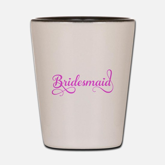 Bridesmaid Shot Glass