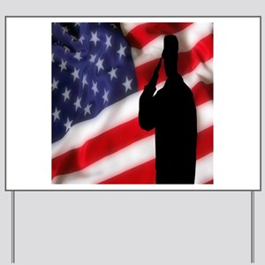 Stand For Our Flag Yard Sign