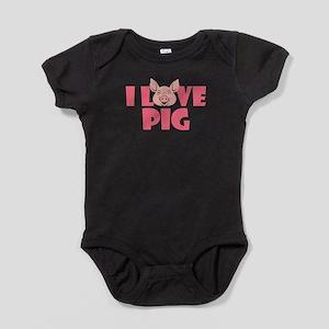 I Love Pigs T-Shirt Body Suit