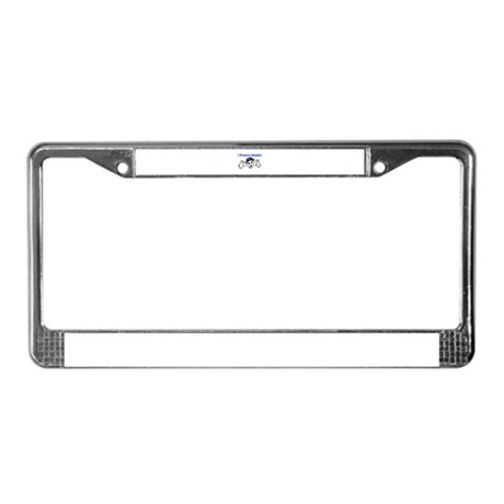 I Punch Mimes License Plate Frame