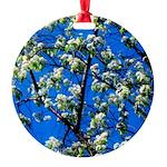 Snow Flowers Ornament