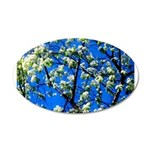 Snow Flowers Wall Decal