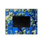 Snow Flowers Picture Frame