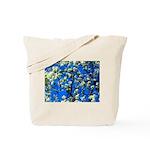 Snow Flowers Tote Bag
