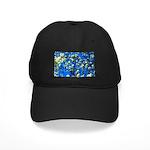 Snow Flowers Baseball Hat