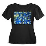 Snow Flowers Plus Size T-Shirt