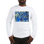 Snow Flowers Long Sleeve T-Shirt