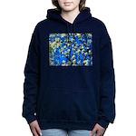 Snow Flowers Women's Hooded Sweatshirt