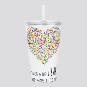 Teacher appreciation Acrylic Double-wall Tumbler