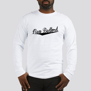 New Bedford, Retro, Long Sleeve T-Shirt