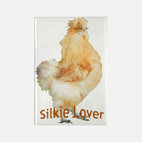 Silkie Lover Rectangle Magnet