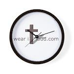 Wear it Loud Gear Wall Clock