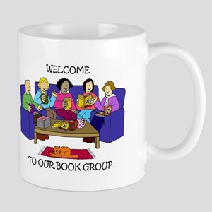 Welcome to our Book Group Mugs