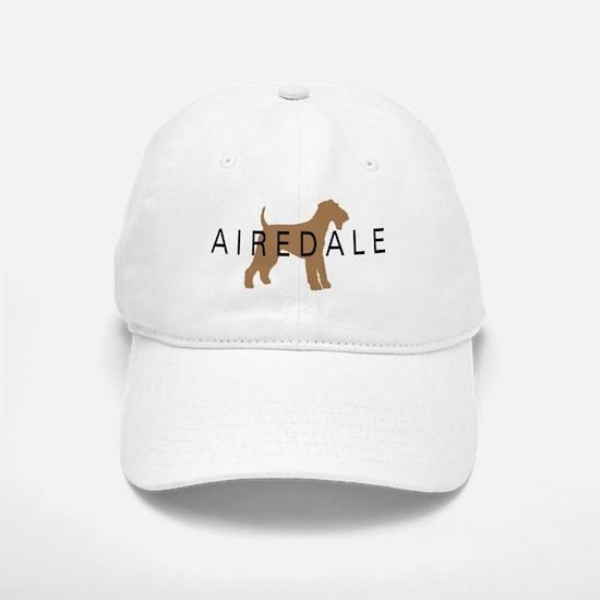 Airedale Baseball Baseball Cap