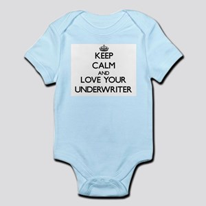 Keep Calm and Love your Underwriter Body Suit