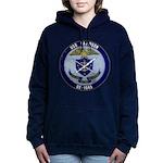 USS DAVIDSON Women's Hooded Sweatshirt