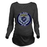 USS DAVIDSON Long Sleeve Maternity T-Shirt