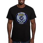 USS DAVIDSON Men's Fitted T-Shirt (dark)
