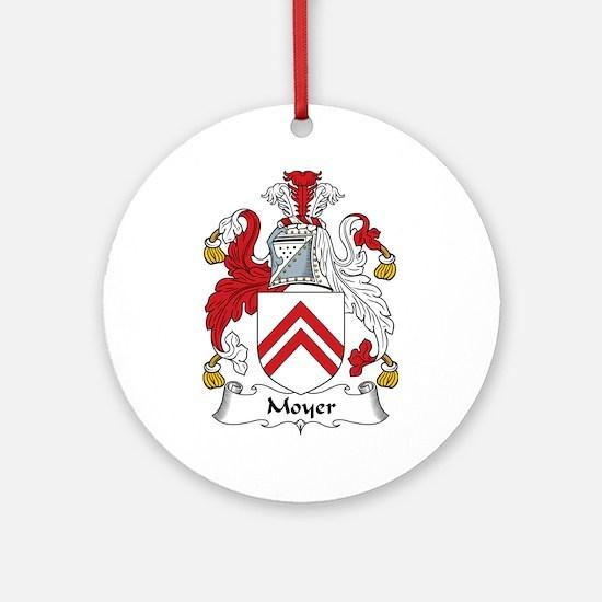 Moyer Ornament (Round)