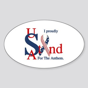 Usa Stand For Anthem Sticker