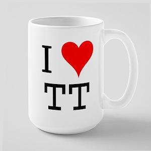I Love TT Large Mug