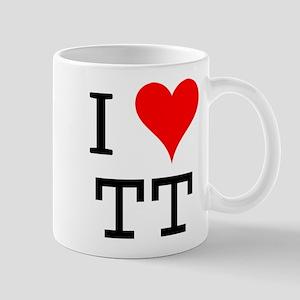 I Love TT Mug
