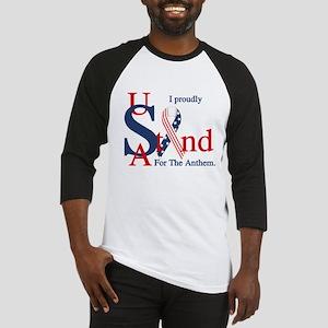 USA Stand for Anthem Baseball Jersey